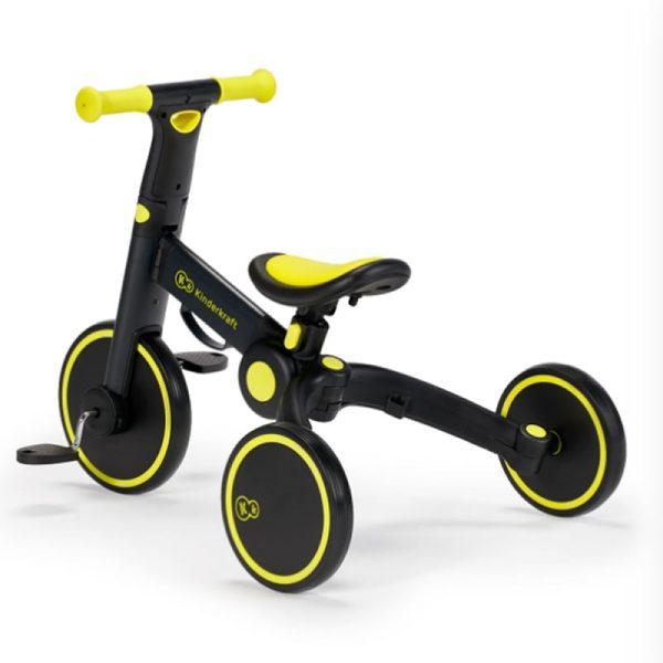 Tricicleta 4Trike Kinderkraft Black 8