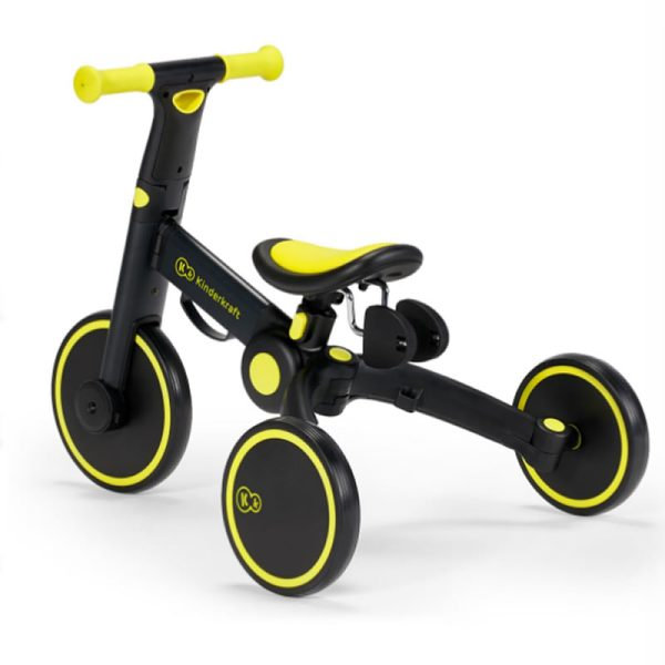 Tricicleta 4Trike Kinderkraft Black 9