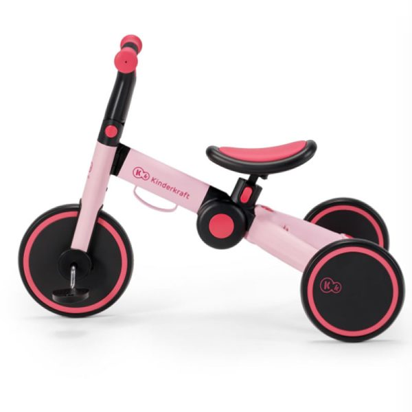Tricicleta 4Trike Kinderkraft Pink 3
