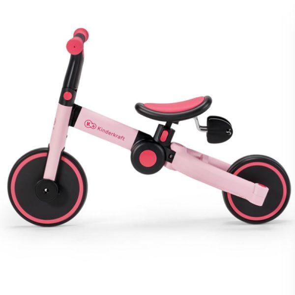 Tricicleta 4Trike Kinderkraft Pink 5