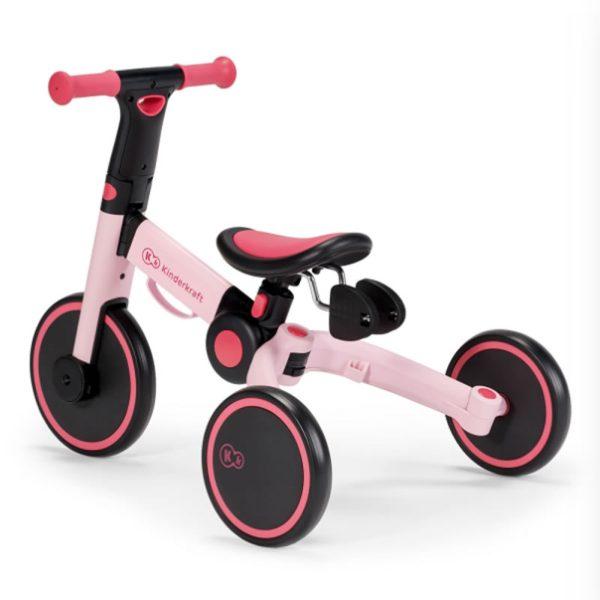 Tricicleta 4Trike Kinderkraft Pink 9