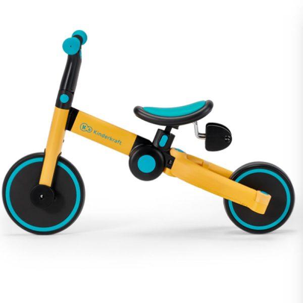 Tricicleta 4Trike Kinderkraft Yellow 3