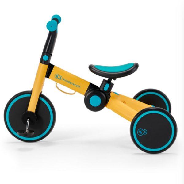 Tricicleta 4Trike Kinderkraft Yellow 4