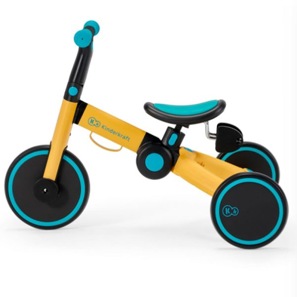 Tricicleta 4Trike Kinderkraft Yellow 5