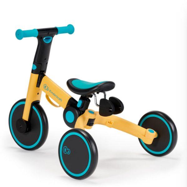 Tricicleta 4Trike Kinderkraft Yellow 6