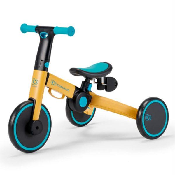 Tricicleta 4Trike Kinderkraft Yellow