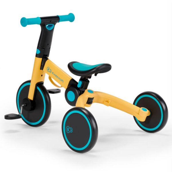 Tricicleta 4Trike Kinderkraft Yellow 7