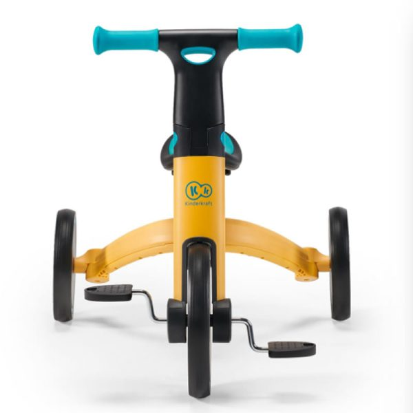 Tricicleta 4Trike Kinderkraft Yellow 8