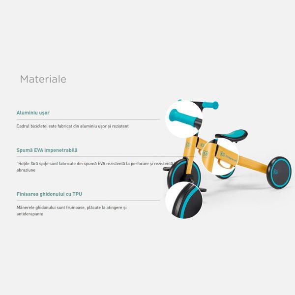 Tricicleta 4Trike Kinderkraft z 12