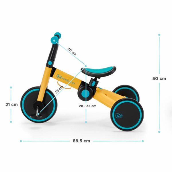 Tricicleta 4Trike Kinderkraft z 13