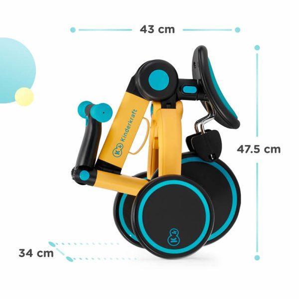 Tricicleta 4Trike Kinderkraft z 14