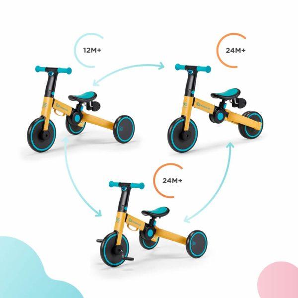 Tricicleta 4Trike Kinderkraft z 4