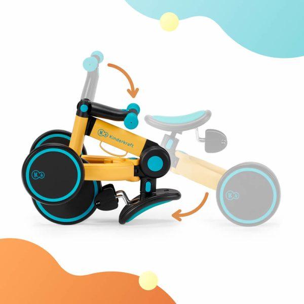 Tricicleta 4Trike Kinderkraft z 5