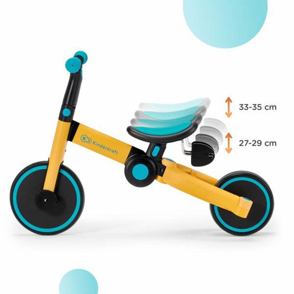 Tricicleta 4Trike Kinderkraft z 6