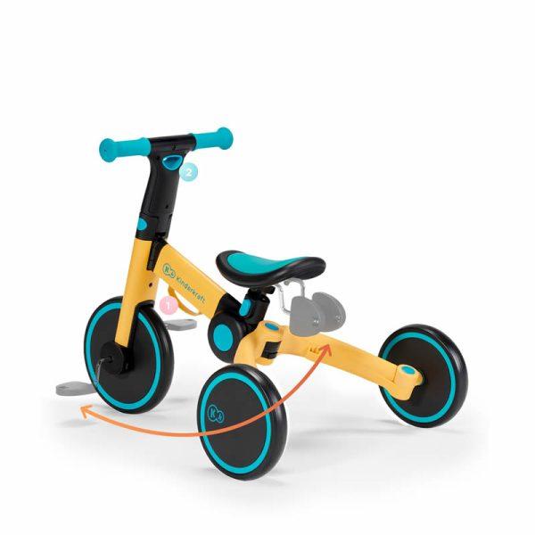Tricicleta 4Trike Kinderkraft z 9