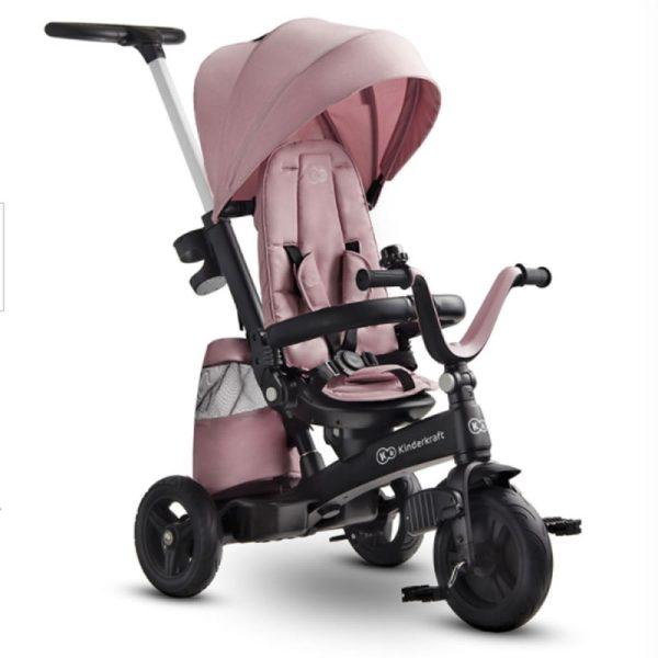 Tricicleta 5 in 1 Kinderkraft EASYTWIST mauvelous pink 1