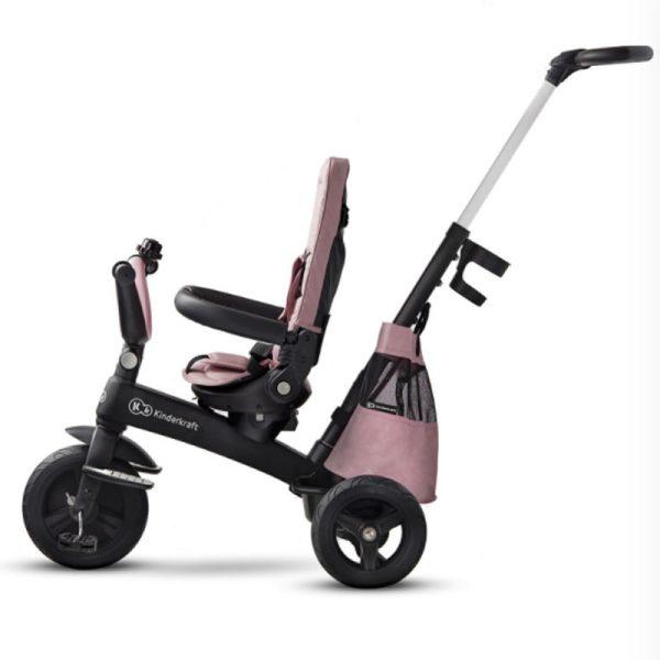 Tricicleta 5 in 1 Kinderkraft EASYTWIST mauvelous pink 10
