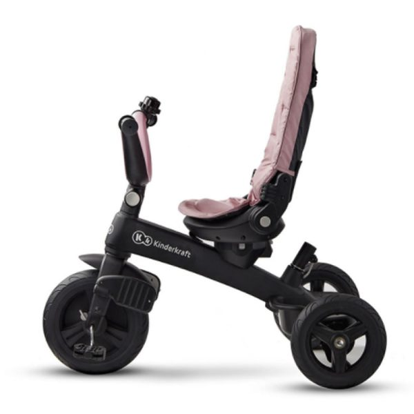 Tricicleta 5 in 1 Kinderkraft EASYTWIST mauvelous pink 12