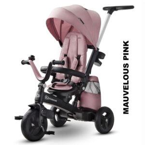 Tricicleta 5 in 1 Kinderkraft EASYTWIST mauvelous pink