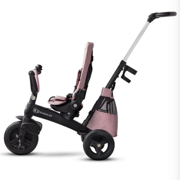 Tricicleta 5 in 1 Kinderkraft EASYTWIST mauvelous pink 9