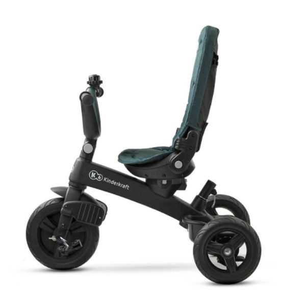 Tricicleta 5 in 1 Kinderkraft EASYTWIST midnight green 10