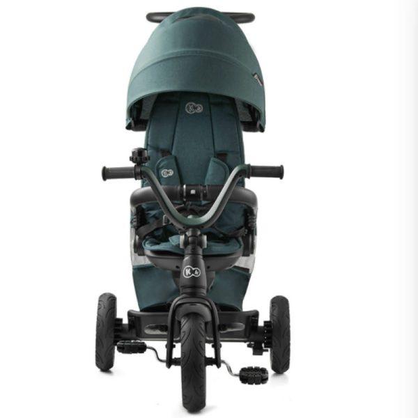 Tricicleta 5 in 1 Kinderkraft EASYTWIST midnight green 2