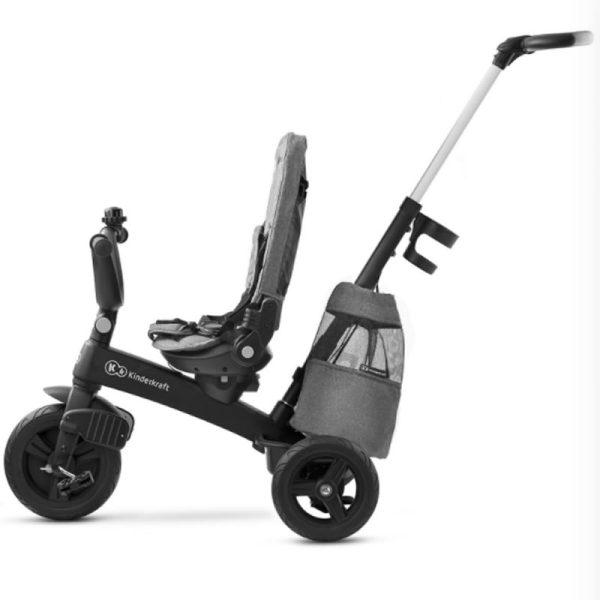Tricicleta 5 in 1 Kinderkraft EASYTWIST platinum grey 11