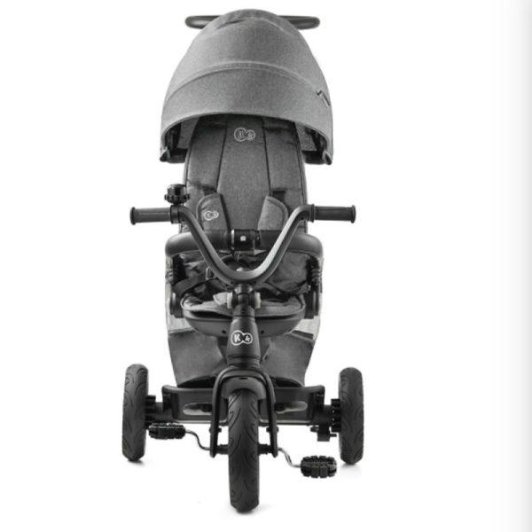 Tricicleta 5 in 1 Kinderkraft EASYTWIST platinum grey 2
