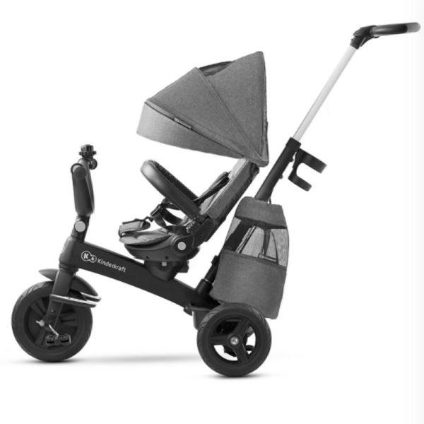 Tricicleta 5 in 1 Kinderkraft EASYTWIST platinum grey 4