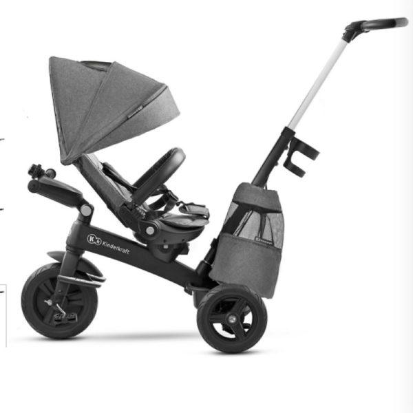 Tricicleta 5 in 1 Kinderkraft EASYTWIST platinum grey 5