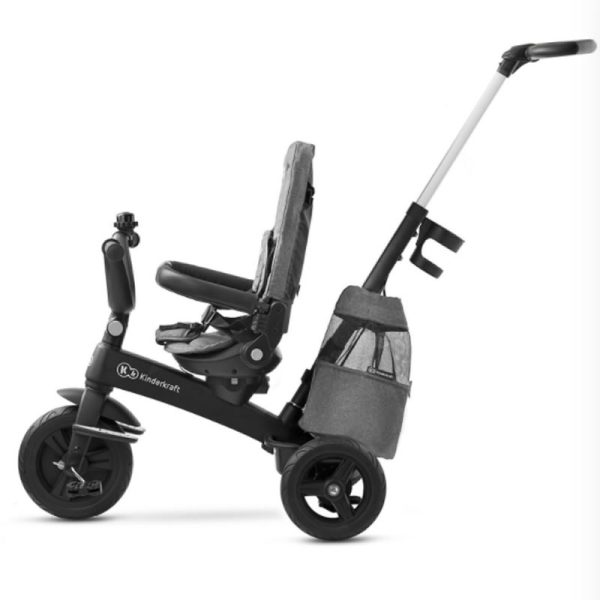 Tricicleta 5 in 1 Kinderkraft EASYTWIST platinum grey 7