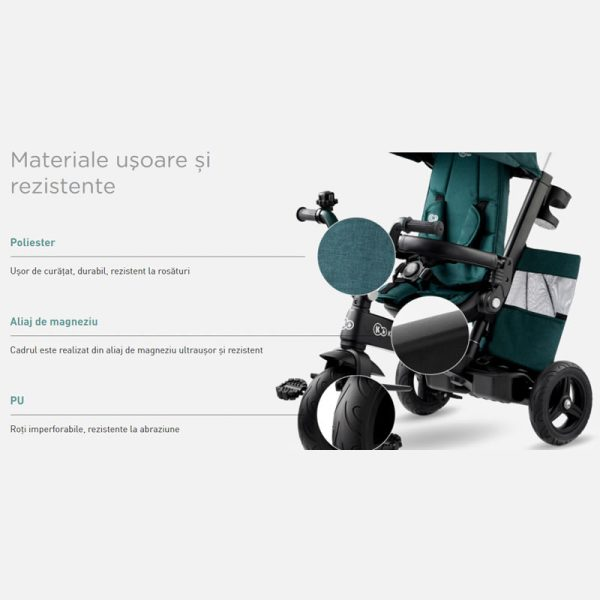 Tricicleta 5 in 1 Kinderkraft EASYTWIST z 17