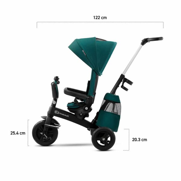 Tricicleta 5 in 1 Kinderkraft EASYTWIST z 20