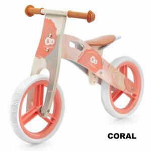 bicicleta fara pedale kinderkraft runner 2021 coral