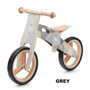 bicicleta fara pedale kinderkraft runner 2021 grey