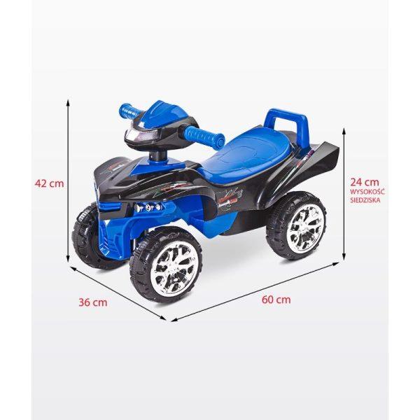 ride on si impingator toyz mini raptor 2 in 1 z