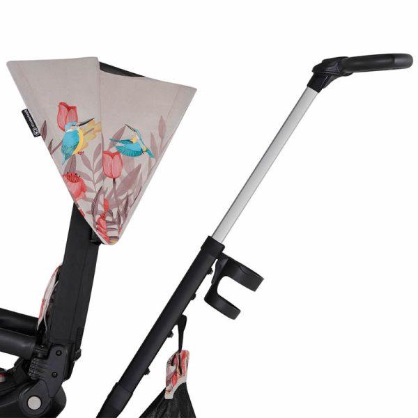 Tricicleta 5 in 1 Kinderkraft EASYTWIST Freedom Bird 24