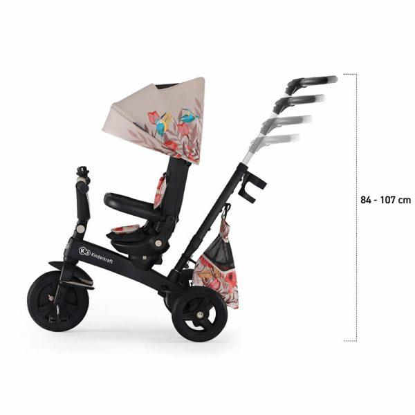 Tricicleta 5 in 1 Kinderkraft EASYTWIST Freedom Bird 29