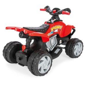 ATV electric pentru copii Pilsan ROCKET 12V rosu 1