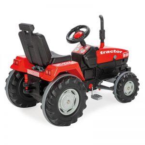 Tractor cu pedale Pilsan SUPER rosu 1