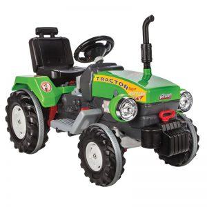 Tractor electric Pilsan SUPER 12V verde